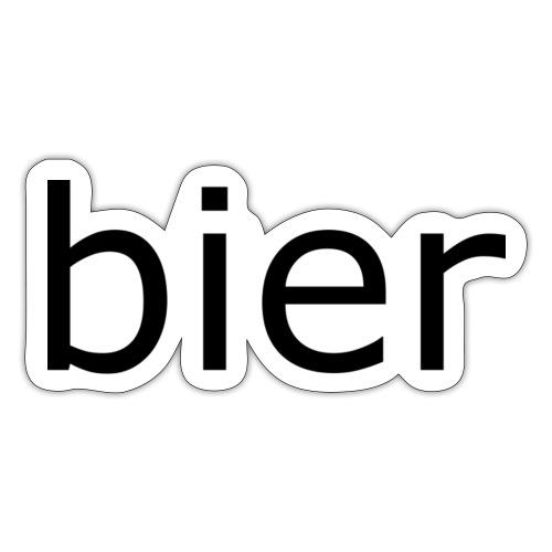 bier - Sticker