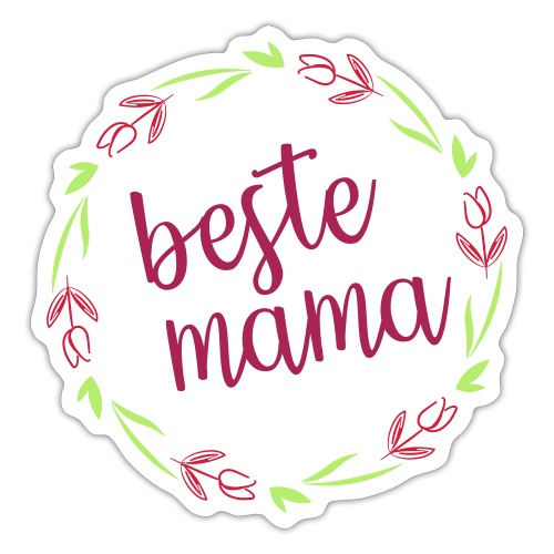 beste mama 01 - Sticker