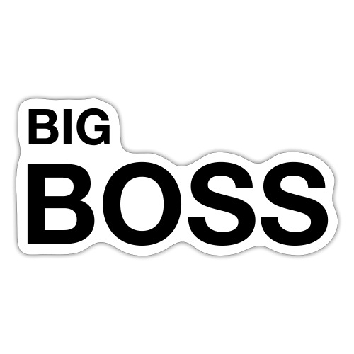 big boss 01 - Sticker