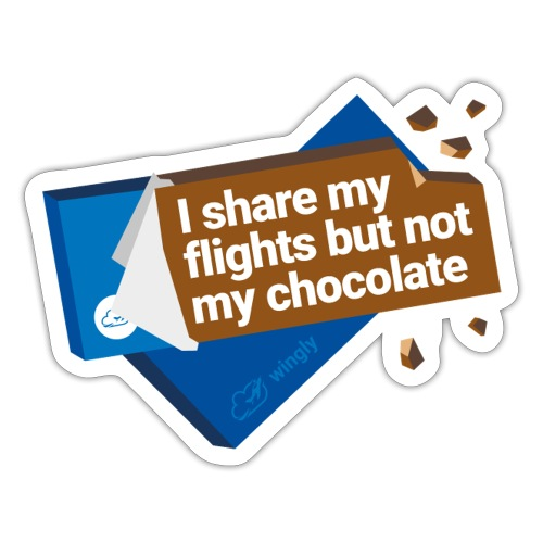 Share my flights - Sticker