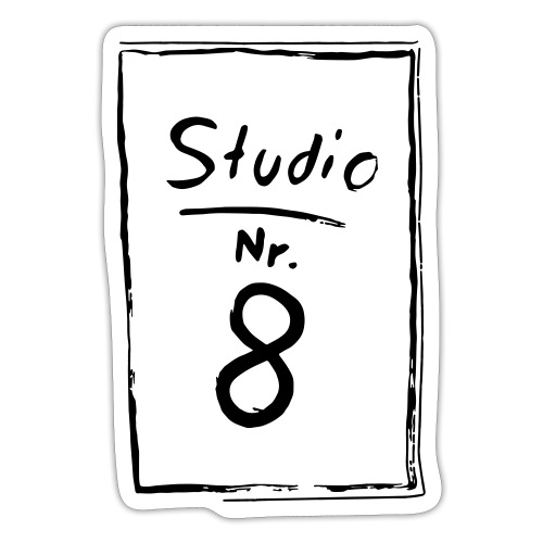 Studio Acht | Logo - Sticker