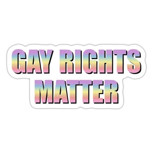 Gay Rights Matter pastel - Tarra