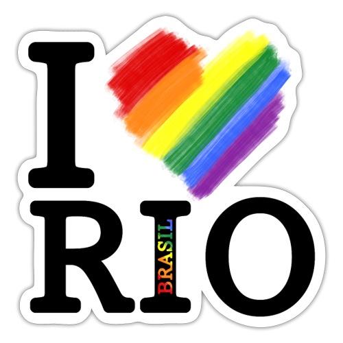 I love Rio - Pegatina
