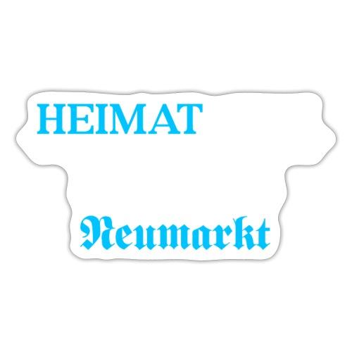 Heimat'Gfui Neumarkt Bayern Koordinate Dialekt - Sticker
