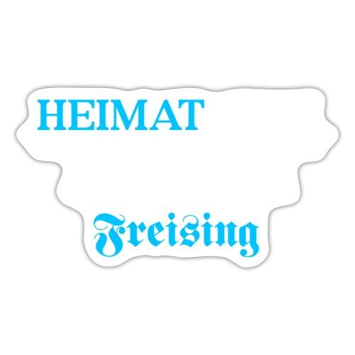 Heimat'Gfui Freising Bayern Koordinate Dialekt - Sticker
