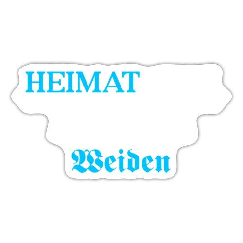 Heimat'Gfui Weiden Bayern Geschenk Dialekt - Sticker