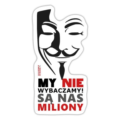 Są Nas MILIONY - kolejny motyw Akademia Wywiadu™ - Naklejka