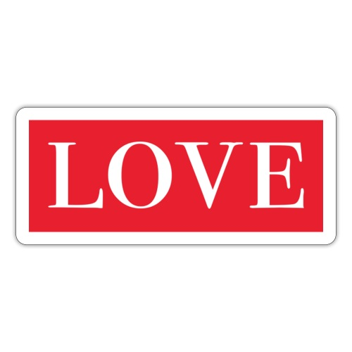 Red LOVE - Sticker