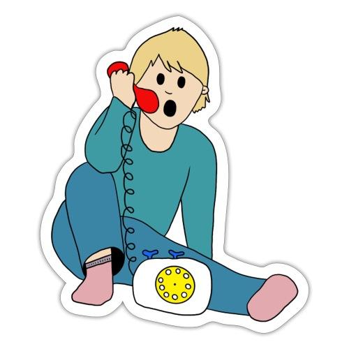 Telefoneren - Sticker