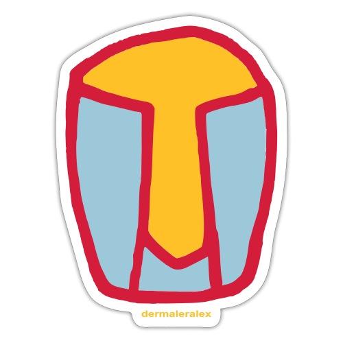 kopf abstrakt - Sticker