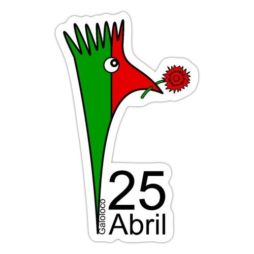 Galoloco - 25 Abril - Autocollant