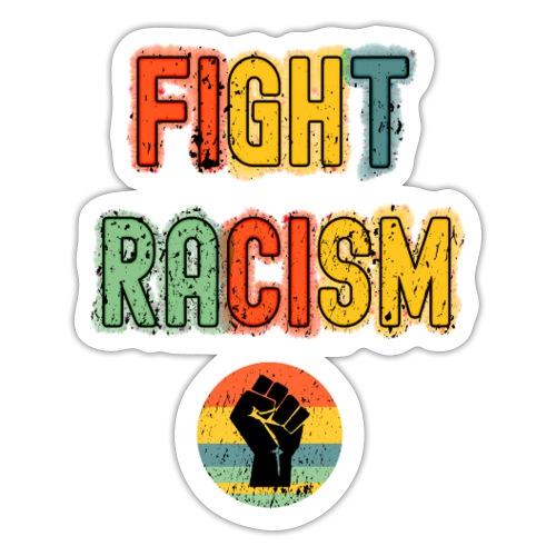 Stopp Rasism - Klistermärke
