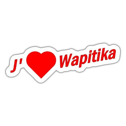 J'aime Wapitika - Sticker
