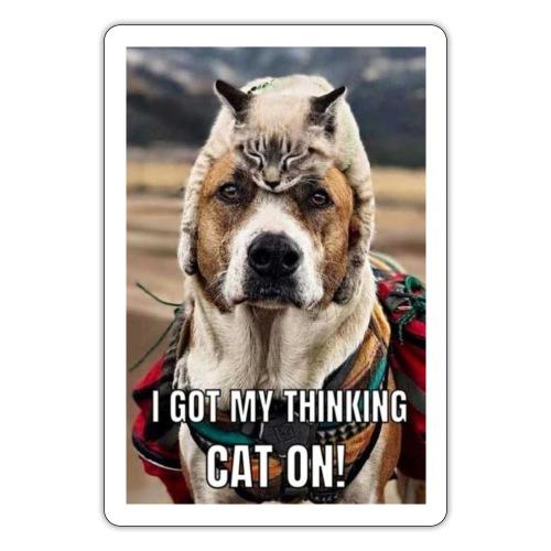 THINKING HAT - Sticker
