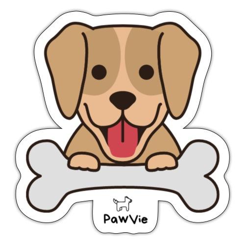 PawVie Dog - Sticker
