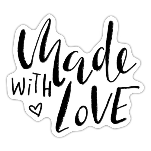 Made with Love - Sticker