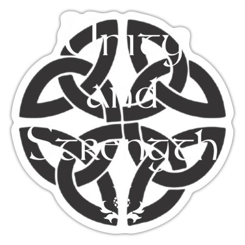 Unity and strength - Adesivo