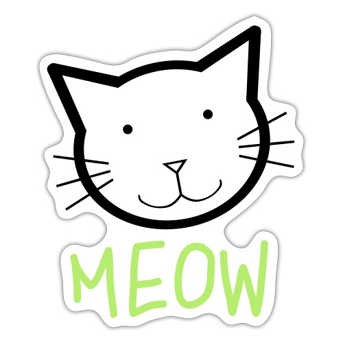 MEOW MIEZE - Sticker