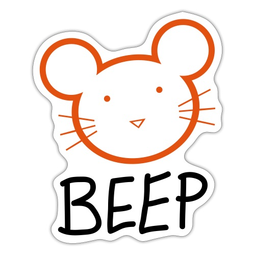 BEEP MOUSE - Sticker