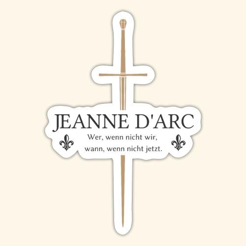 Jeanne d arc dark - Sticker