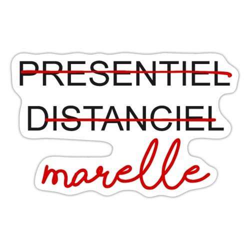 DISTANCIEL MARELLE - Autocollant