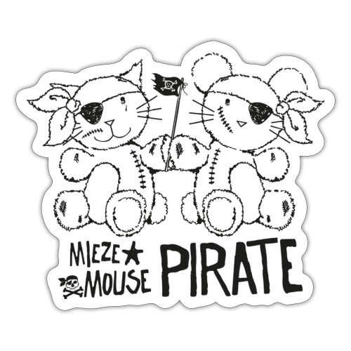 MIEZEMOUSE PIRATE - Sticker