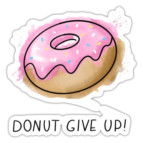 Fruit Puns n°1 Donut give up - Sticker