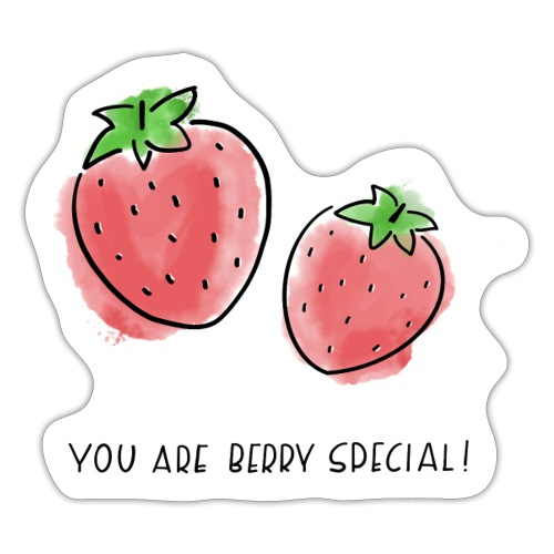Fruit Puns n°1 Berry Special - Sticker
