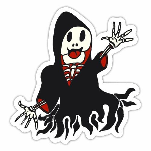 grim reaper funny style - Autocollant