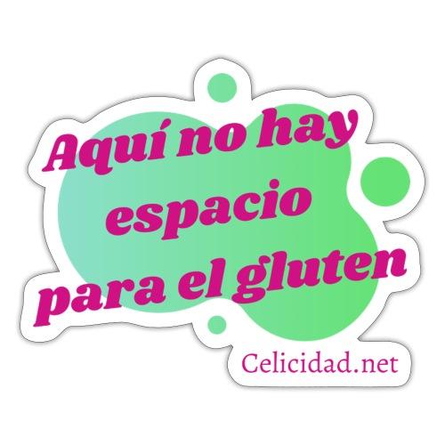 No hay espacio para el gluten - Pegatina