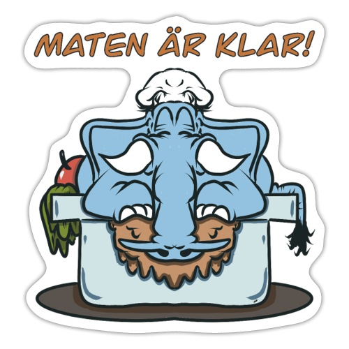 Matofant - Klistermärke