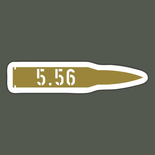 556 decal