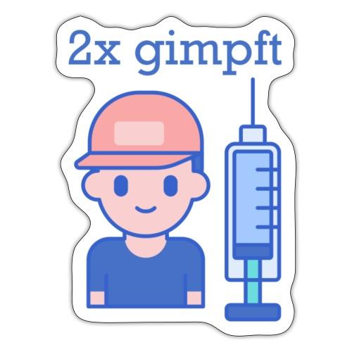 2x gimpft (DE) - Sticker