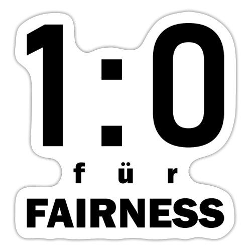 FAIRNESS in Führung - Sticker