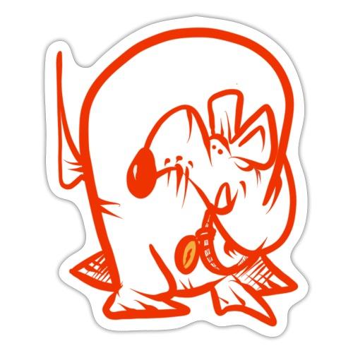 Doggo Zorken - Klistermärke