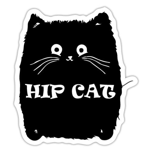 HIP CAT - Autocollant