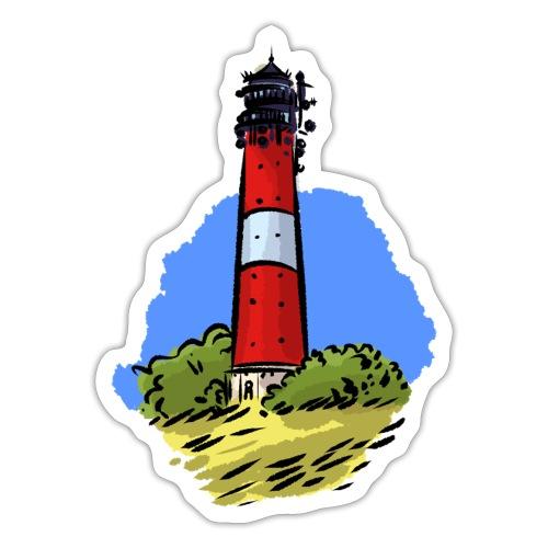 Leuchtturm Hörnum Sylt - Sticker