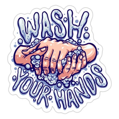 Wash your hands - Sticker