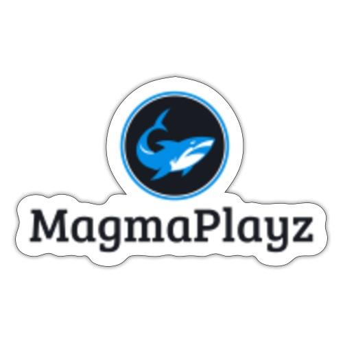MagmaPlayz shark - Sticker