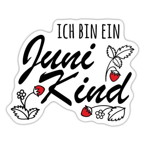 Juni Geburtstag Kind Shirt lustiges Geschenk - Sticker