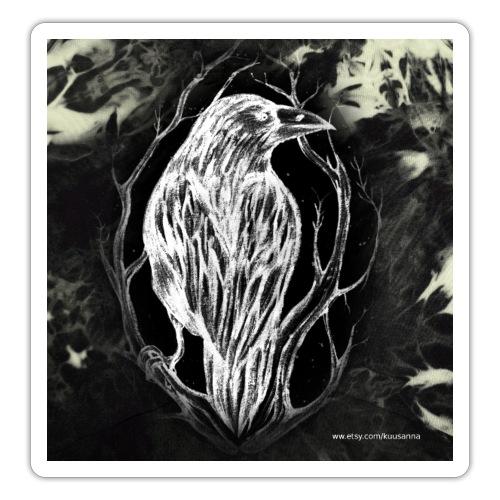 Kuusannakorppi_blackwhite - Tarra
