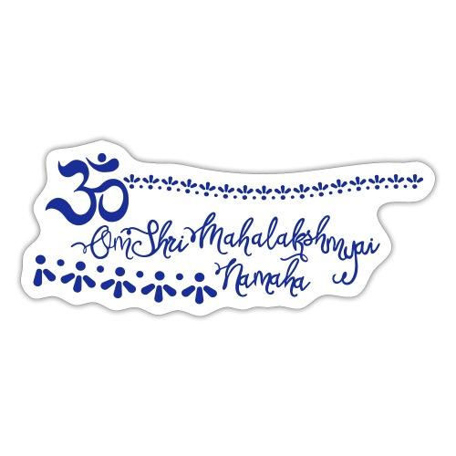Lakshmi Mantra deine Glücksgöttin der Schönheit - Sticker
