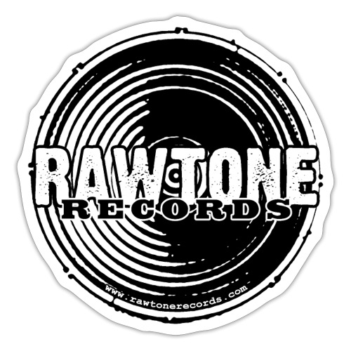 Rawtone Records - full logo - Sticker