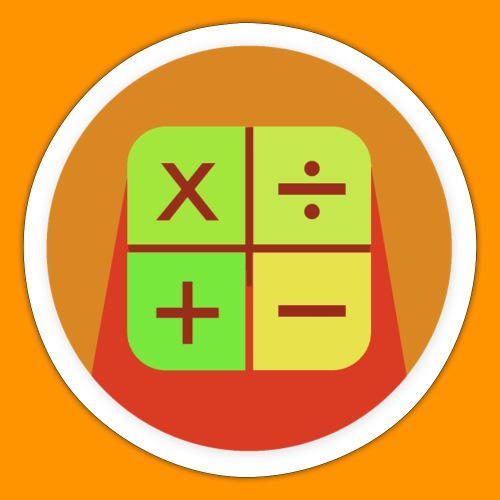 Matemáticas Sin Más - Pegatina