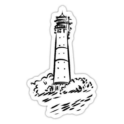 Leuchtturm Hörnum Sylt Art Design - Sticker