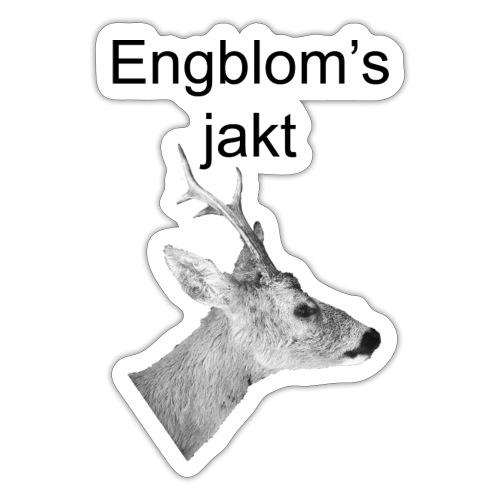 Officiell logo by Engbloms jakt - Klistermärke
