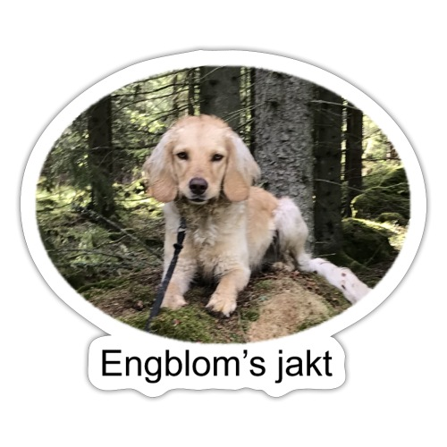 Engblom's jakt (Eichel) - Klistermärke