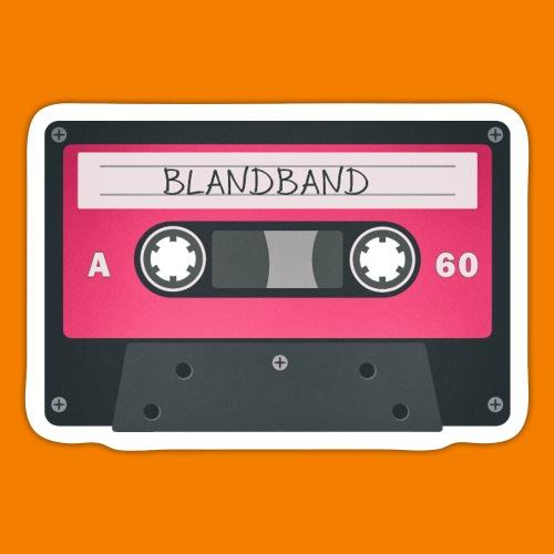 Blandband 80-tal - Klistermärke