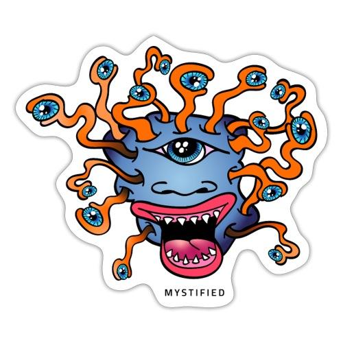 Mystified Eyeball Monster - Sticker