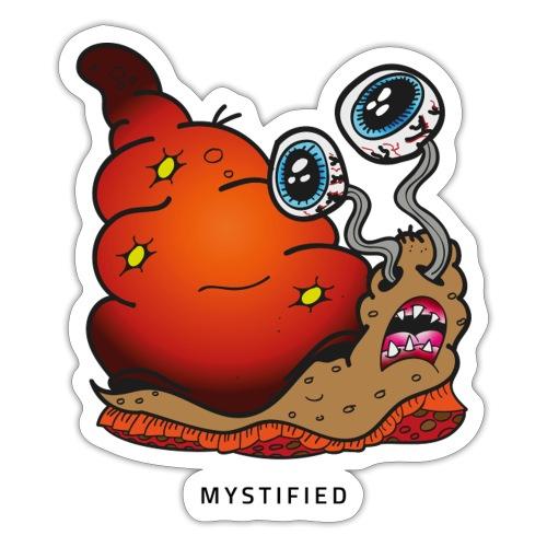 Mystified Crazy Snail - Sticker